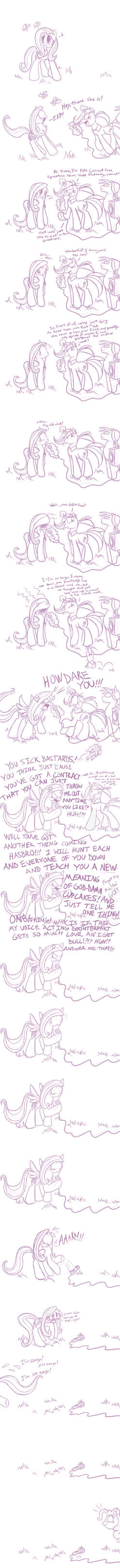 When Fluttershy Found Out... by TheDracoJayProduct