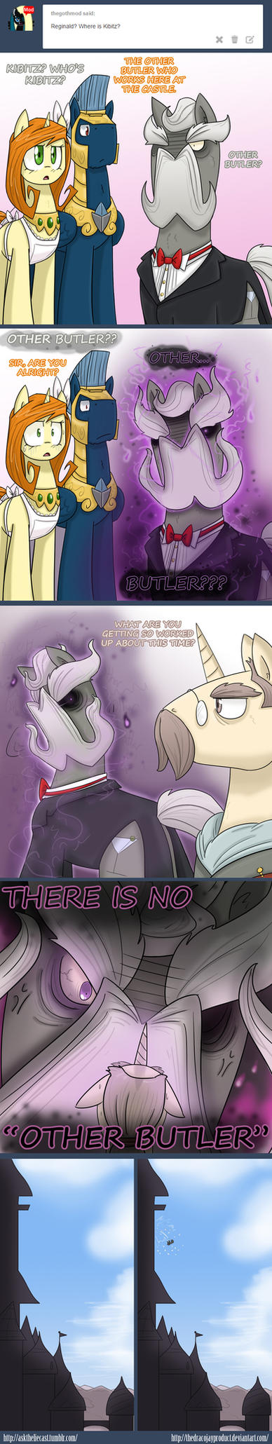 AsktheLIECast 'Other Butler' by TheDracoJayProduct