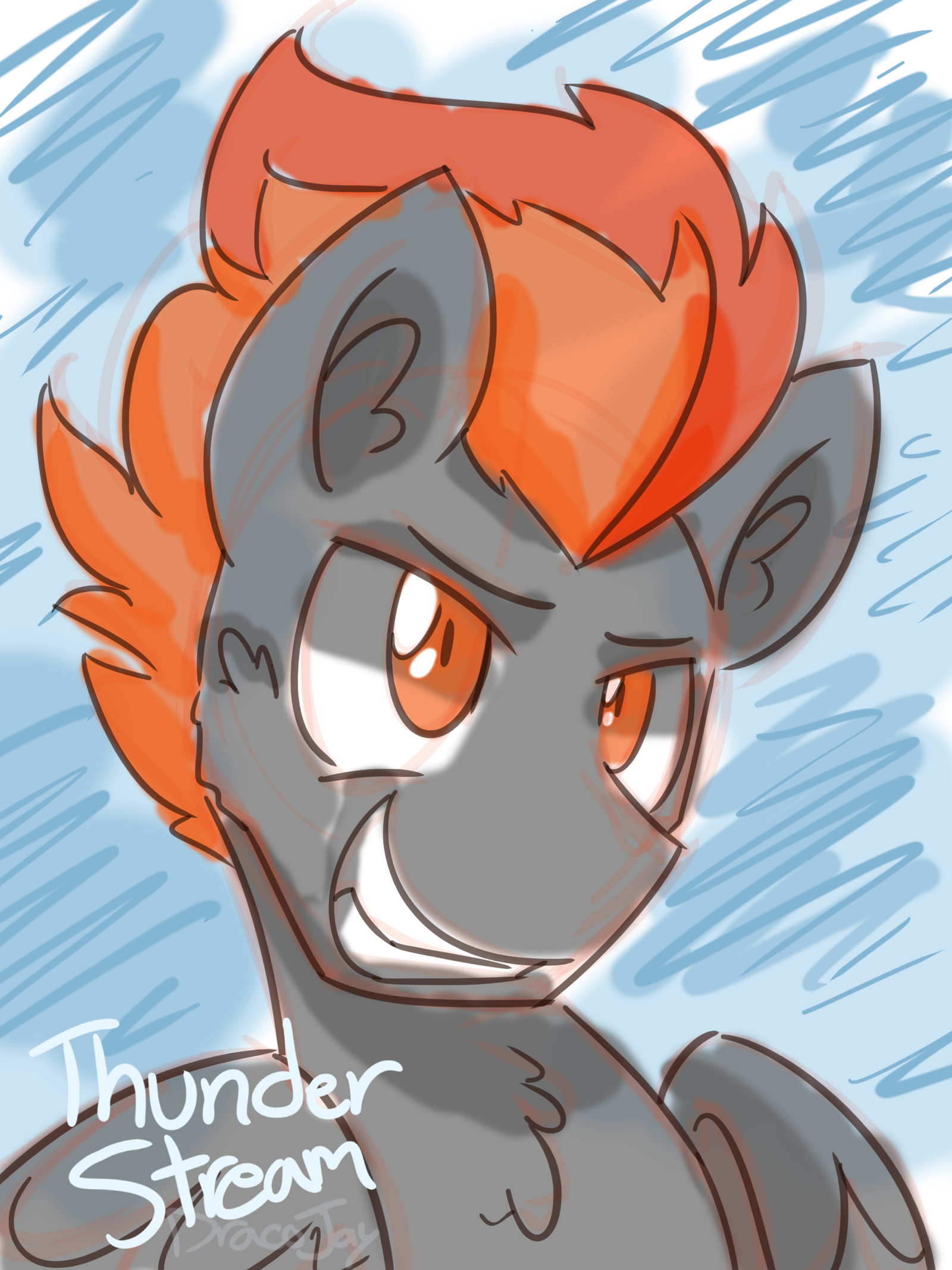 Thunder Stream by TheDracoJayProduct