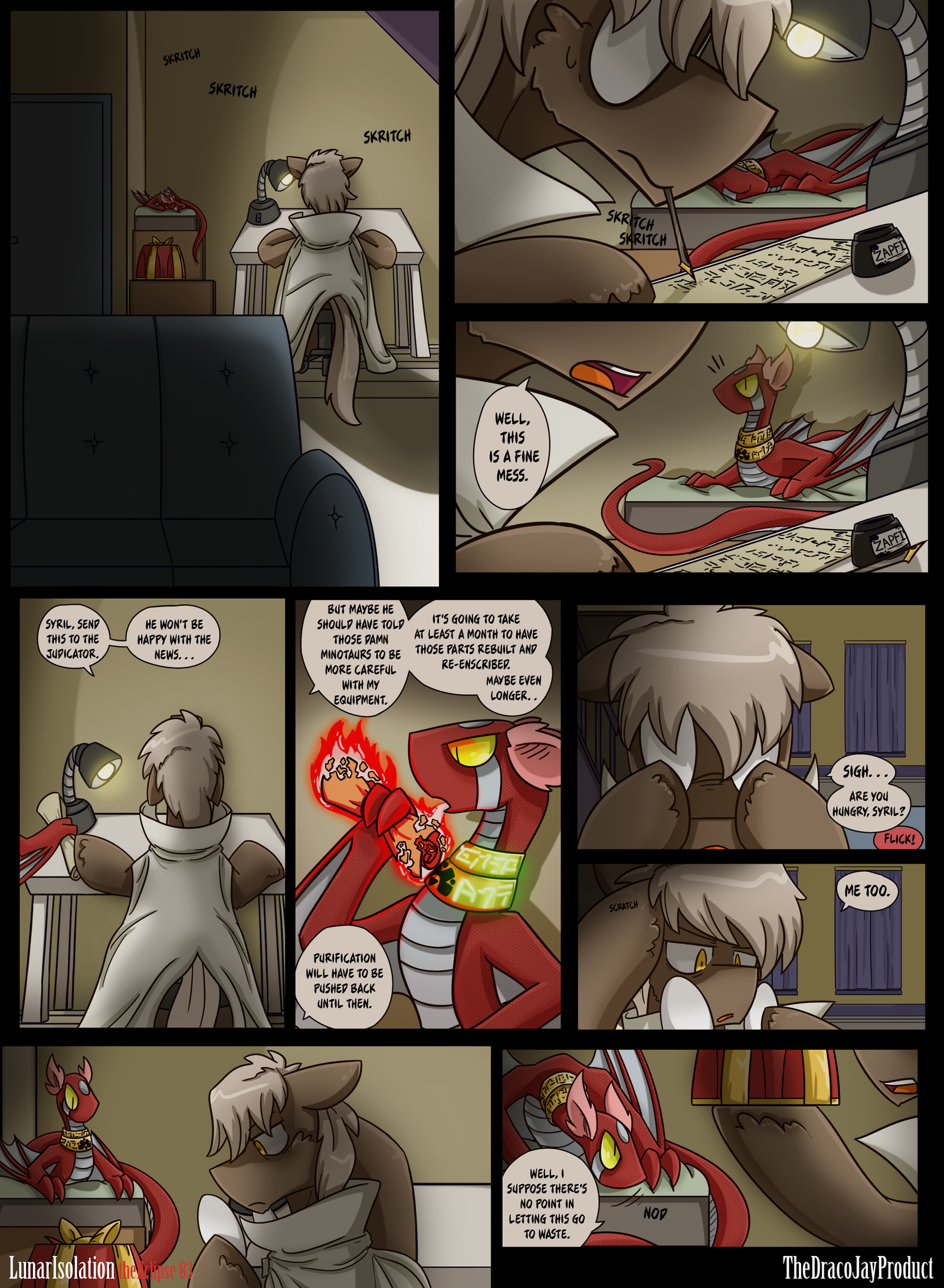 Lunar Isolation Pg 83 by TheDracoJayProduct