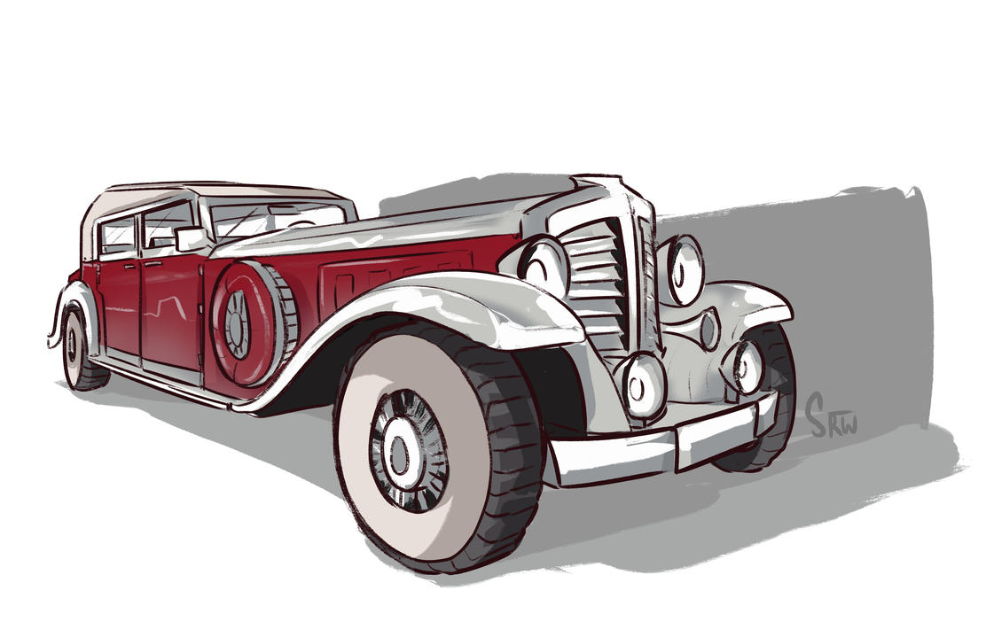 1920's Automobile by TheDracoJayProduct