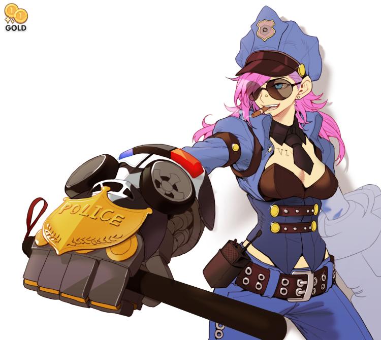 police skin VI by 2gold