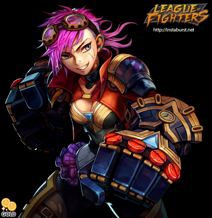League of Fighters - Vi by 2gold