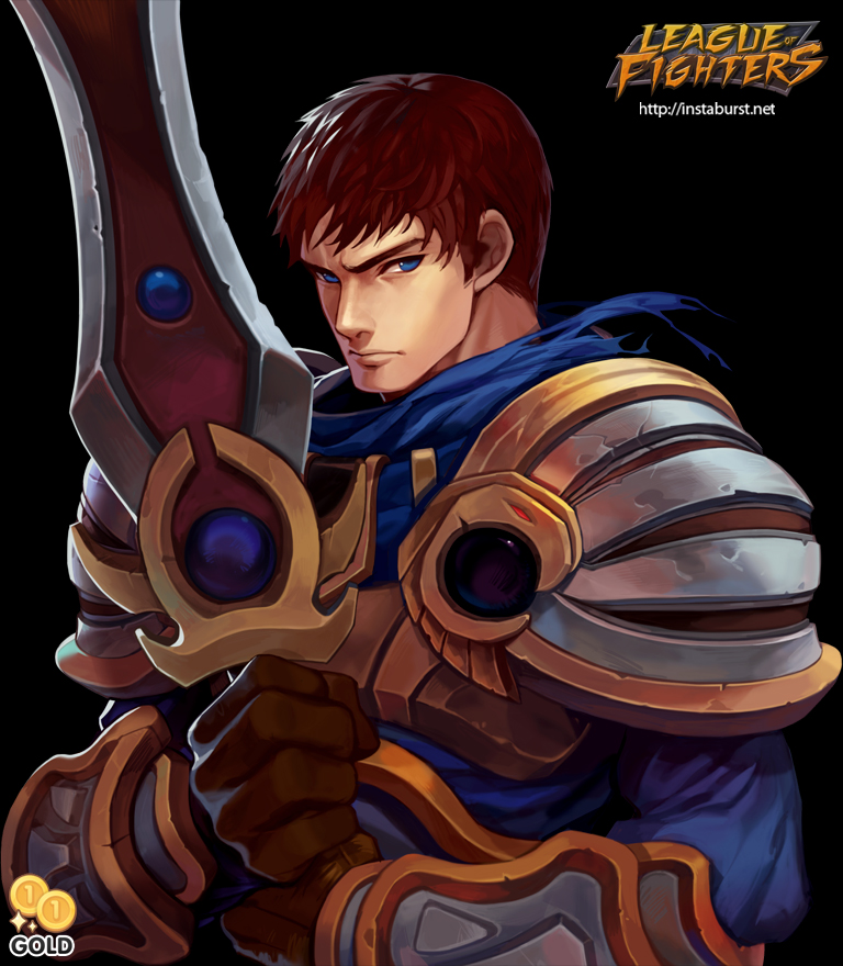 League of Fighters - Garen by 2gold on DeviantArt