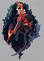 Necromancer Girl by 2gold
