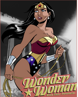 Wonder Woman by Pornomaniac