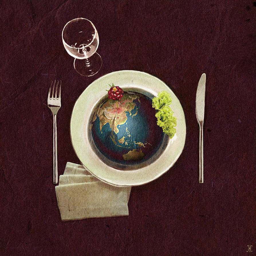 Globalization meal by minificuS