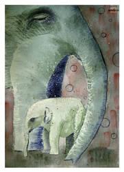 elephants by minificuS