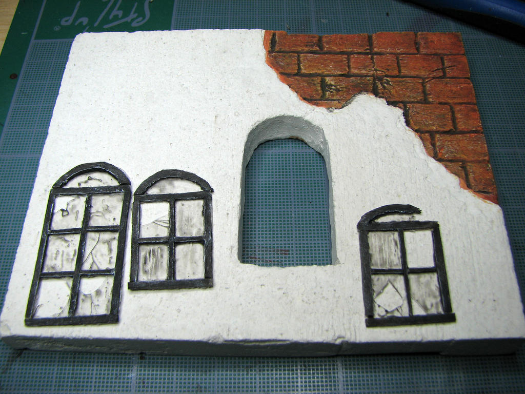 Fenetres decor zombicide wip 10 janvier 2013 by arnolf for Decoration bord fenetre