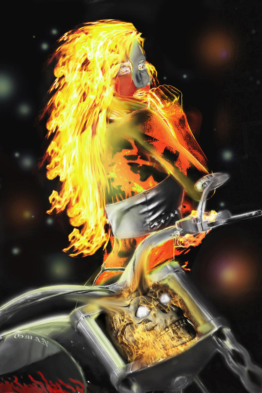 Female ghost rider naked pics