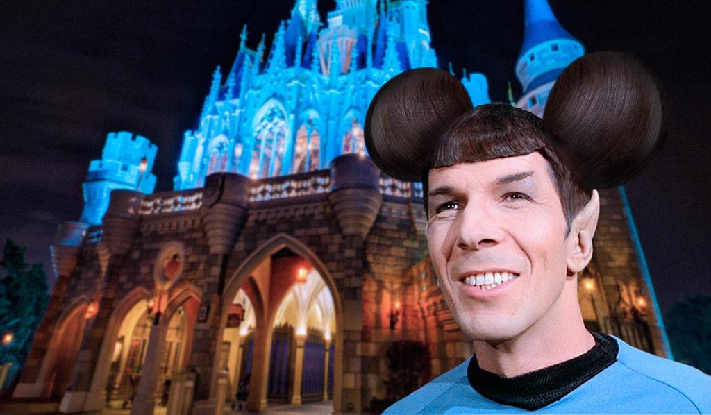 Spock at Disneyland