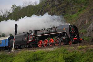 Steam locomotive 475.179 #4 by DusanPavlicek