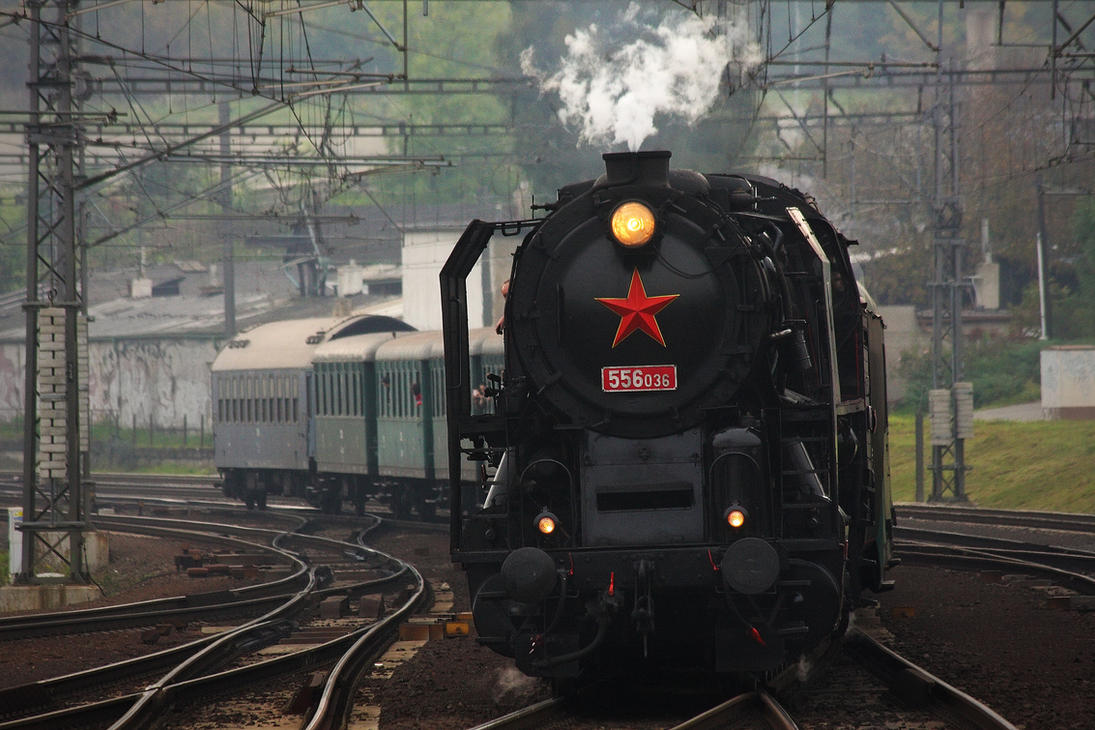 Locomotive 556.036 #1 by DusanPavlicek