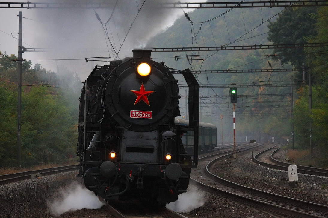 Locomotive 556.036 #2 by DusanPavlicek