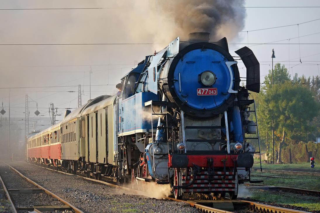Locomotive 477.043 #1 by DusanPavlicek