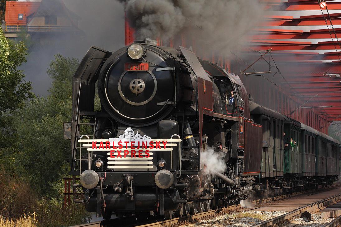 Karlstejn Express #2 by DusanPavlicek