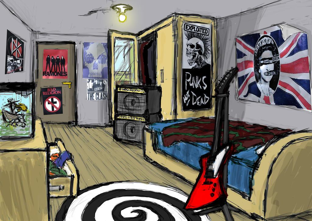 Image Gallery punk bedroom