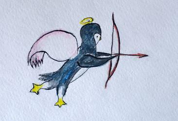 Penguin-cupid