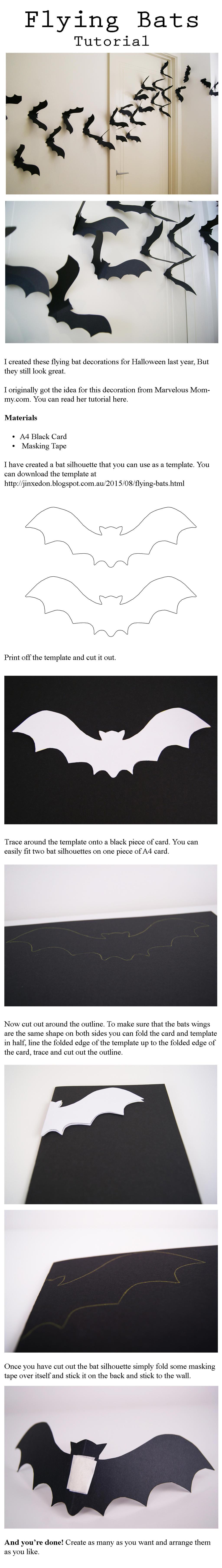 Flying Bat Tutorial