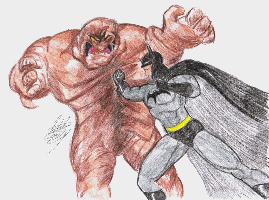 Batman Vs Clayface