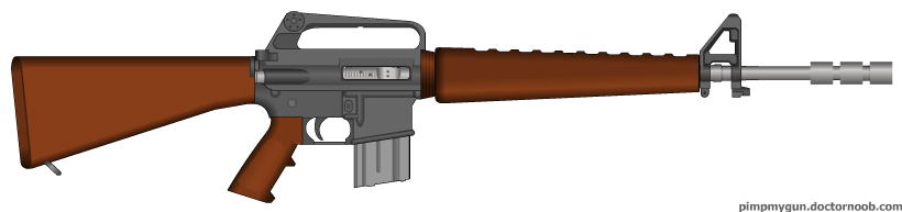 FO: NV Service Rifle by radar651