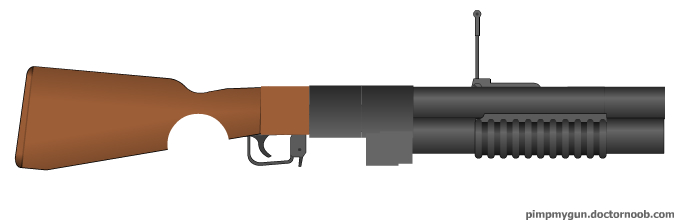 FO: NV Grenade Launcher by radar651