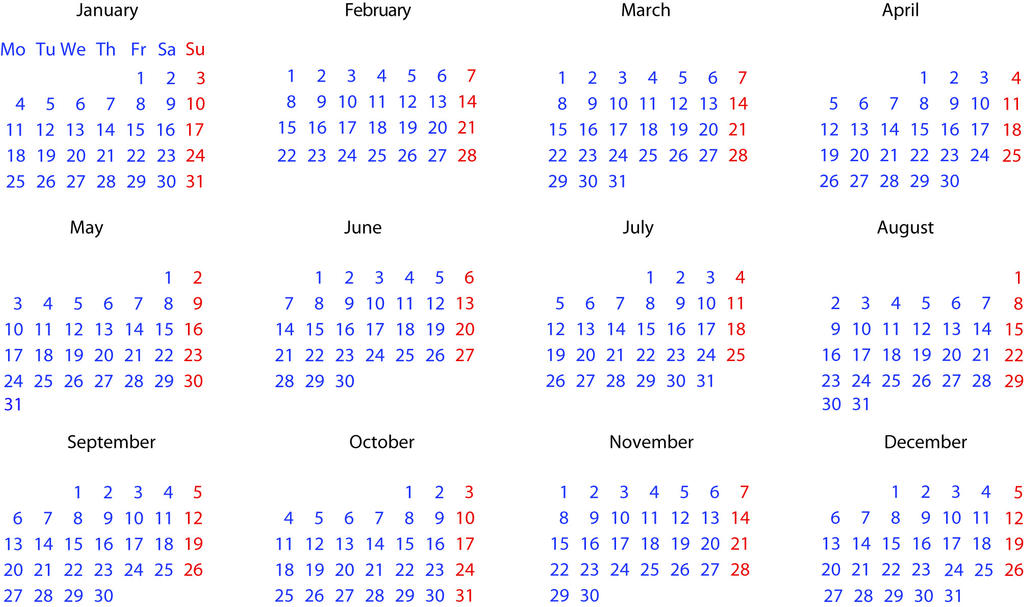 2010 Calendar Template By Sauliusn On Deviantart