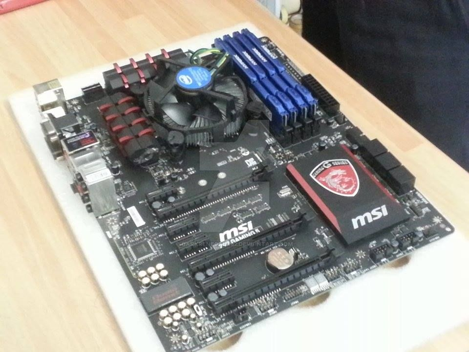 new motherboard.... by darkrenegade92