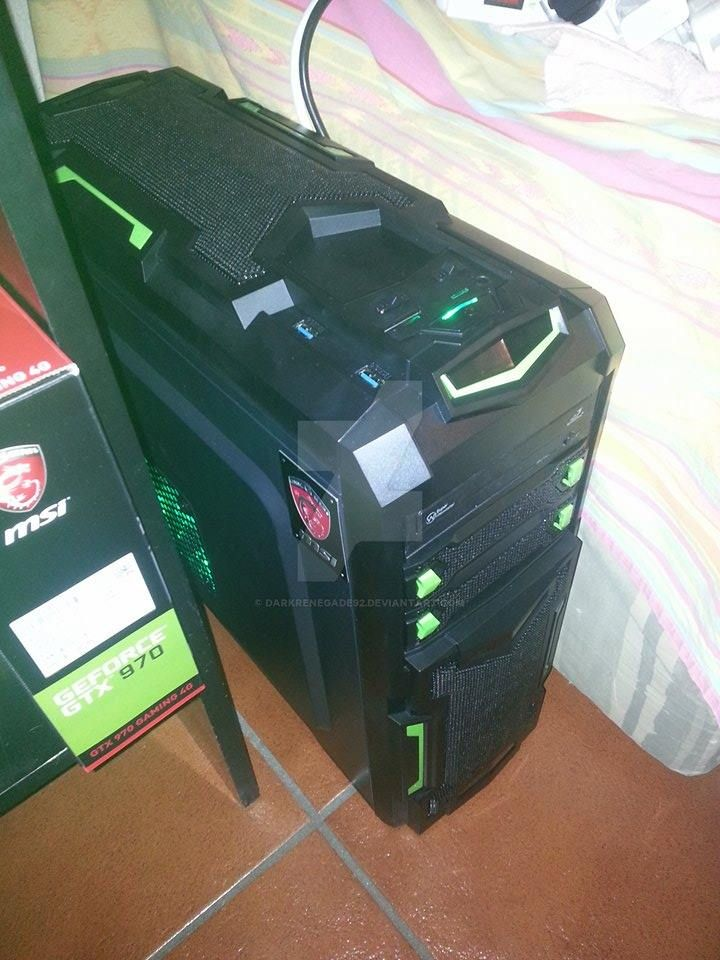 and this is the new pc by darkrenegade92