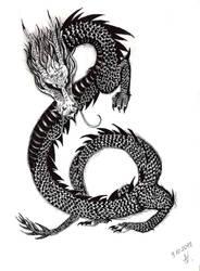 Chinese dragon by Wojak1991