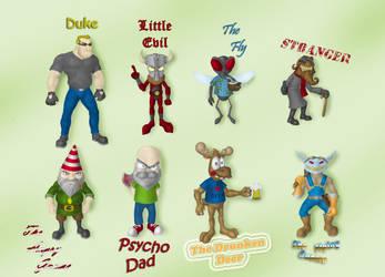Gogszi's characters by Gogszi