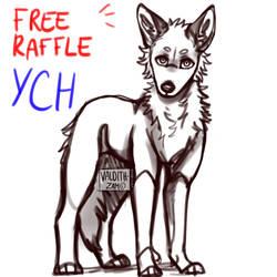 FREE RAFFLE - YCH CLOSED !! by valdith-zam