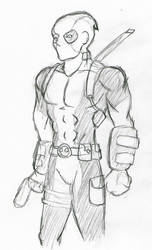 Deadpool Pencils by Zephra85