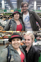 David Tennant Georgia Moffett and me OMFG