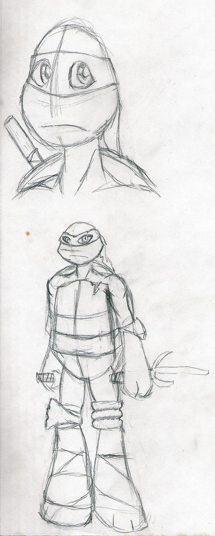 Ninja Turtles Sketches by Zephra85
