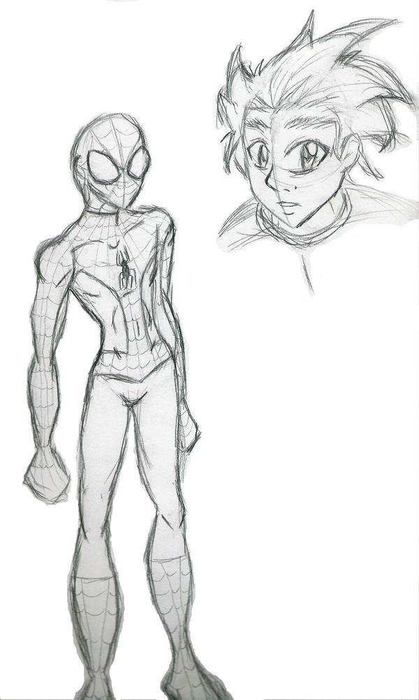 Spidey Sketch by Zephra85