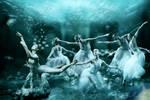 Bailando sobre el agua by Oceliotargino