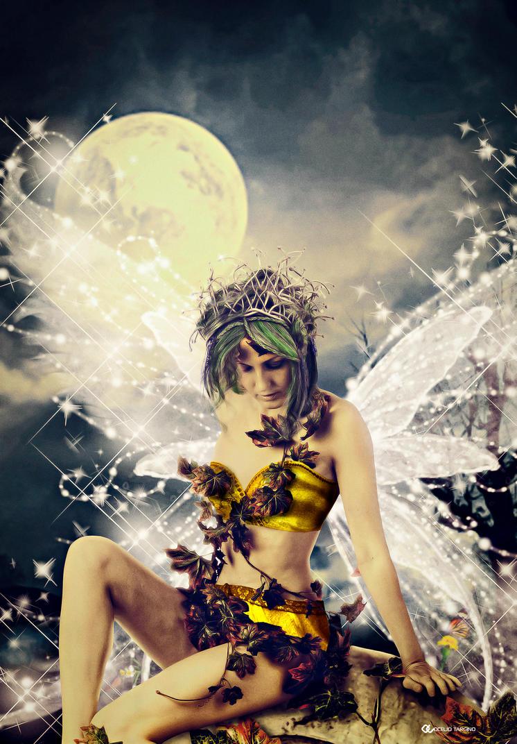 O encanto da lua by Oceliotargino