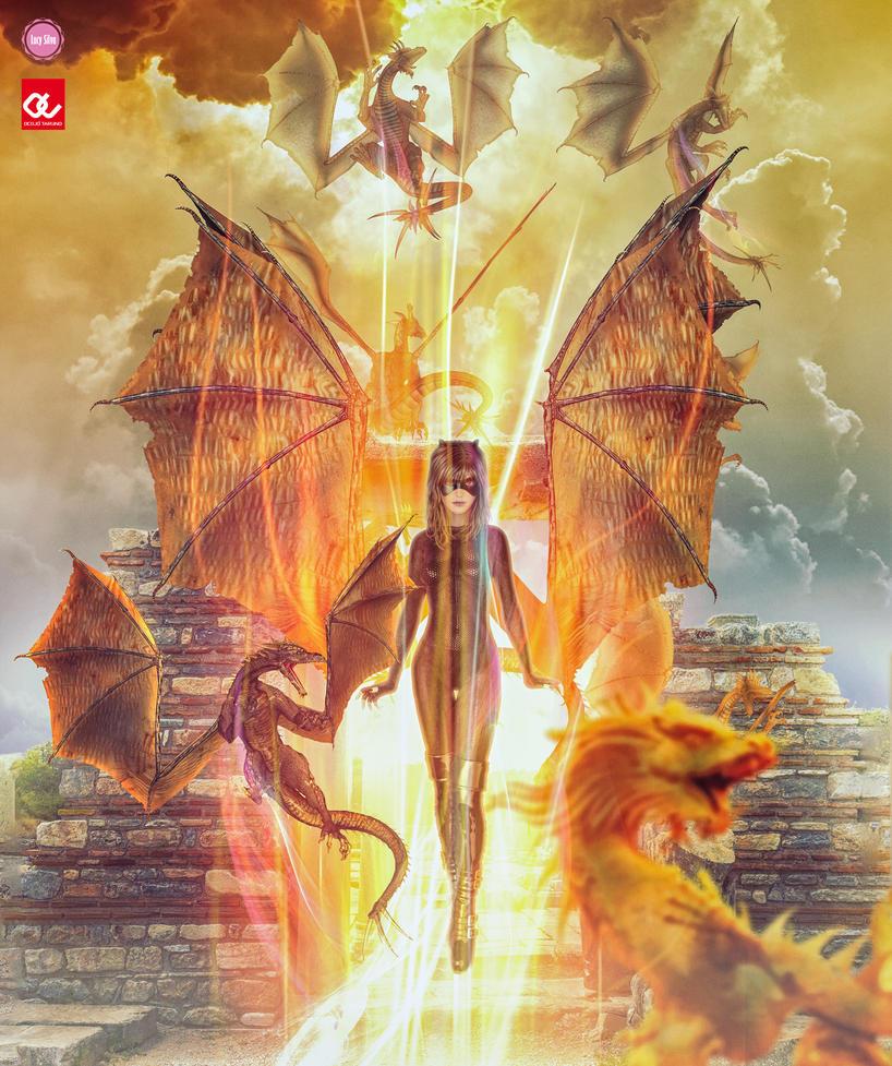 Power Of The Dragons by Oceliotargino