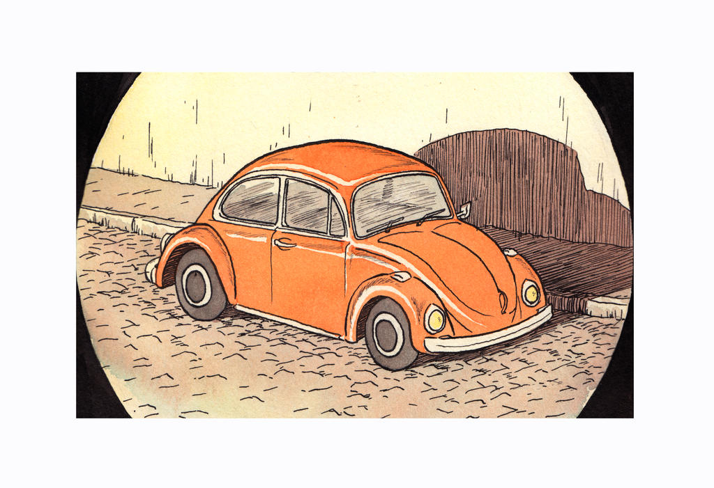 Volkswagen Beetle by ModesteCabot