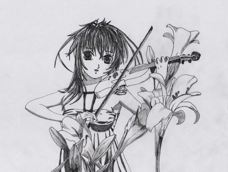 play violin by dielectric-m on DeviantArt