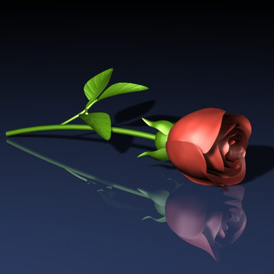 3D Rose | Cool 3D Pictures