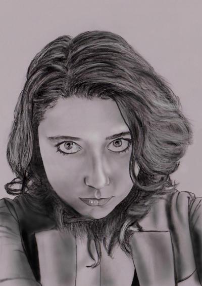 beki portrait by dielectric-m