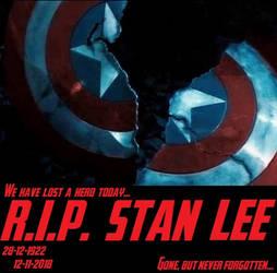 Stan Lee - Heroic Legacy by HonorableBaldy