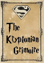 Kryptonian Grimoire Cover by HonorableBaldy