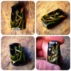 rune pendant - THURISAZ by atropine