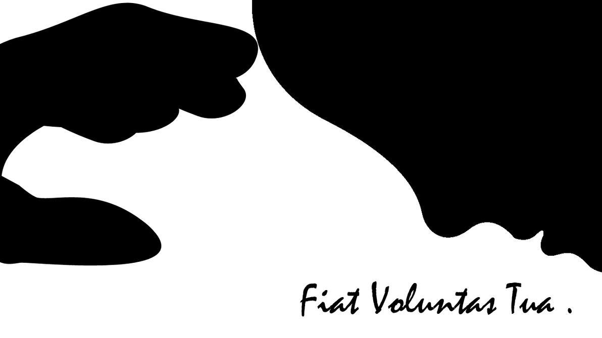 Fiat Voluntas Tua By Right Hand On Deviantart