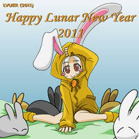 Happy Lunar New Year 2011 by LVUER