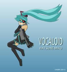Vocaloid - Hatsune Miku by LVUER