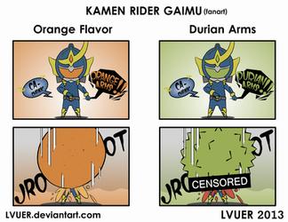 Kamen Rider Gaimu - Dangerous Arms